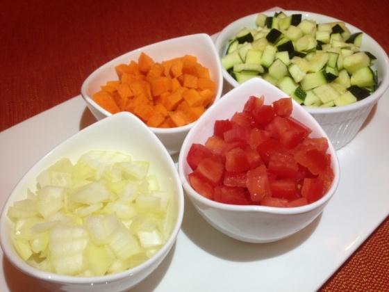 Les Bricks aux légumes